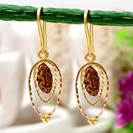 One Mukhi Java Earrings