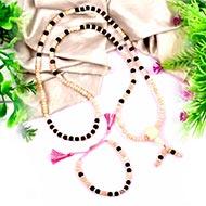 Opal mala and bracelet (Crown)