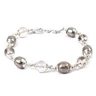 Parad with Sphatik bracelet - I
