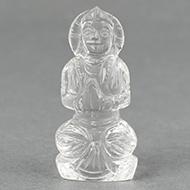 Sphatik Crystal Parvati - 26 gms - Design I