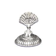 Peacock Oil Lamp in Pure Silver
