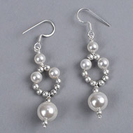 Pearl Earrings - VIII