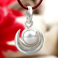 Pearl Moon Locket