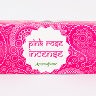Pink Rose Incense Medium With Exotic Incense Diffuser