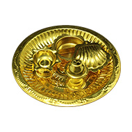 Puja Plate in Brass