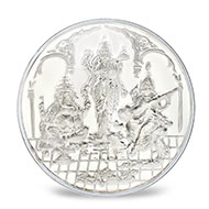 Puja Silver coins - 2.5 gms
