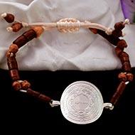 Punchmukhi Hanuman Yantra in Silver Bracelet
