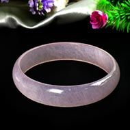 Purple Agate Bangle - III