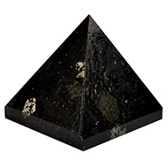 Pyramid in Black Tourmaline - 140 gms
