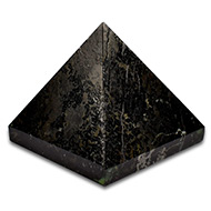Pyramid in Black Tourmaline - 88 gms