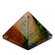 Pyramid in Bloodstone - 138 gms