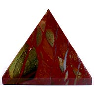 Pyramid in Bloodstone - 141 gms