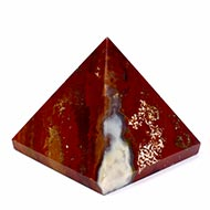 Pyramid in Bloodstone - 150 gms