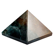 Pyramid in Bloodstone - 60 gms