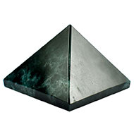 Pyramid in Bloodstone - 76 gms