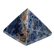 Pyramid in Blue Sodalite-Communication and cr..