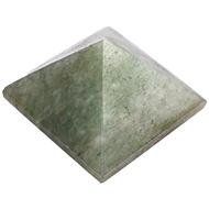 Pyramid in Green Jade - 134 gms
