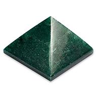 Pyramid in Green Jade - I