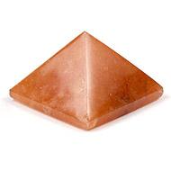 Pyramid in Natural Orange Jade - 13 gms