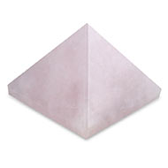 Pyramid in natural Rose Quartz - 41 gms