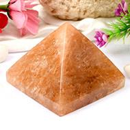 Pyramid in Orange Jade