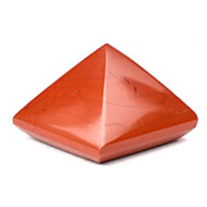 Pyramid in Red Jasper-IV