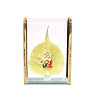 Radha Krishna on Peepal Leaf