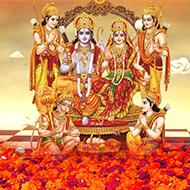Ram and Hanuman Pujas