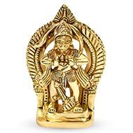 Ram Bhakt Hanuman in Brass