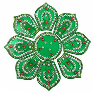 Rangoli - Flower design