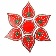 Rangoli - Leaf design