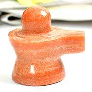 Real Sunstone Shivaling - 56 gms - I