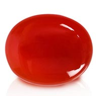 Red Carnelian - 36.80 carats