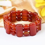 Red Carnelian Bracelet - Design I