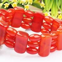 Red Carnelian Bracelet - Design XII