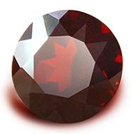 Red Garnet - 3.95 Carats