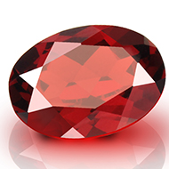 Red Garnet - Ceylon - 7.35 Carats