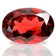 Red Garnet - Ceylon - 3.40 Carats