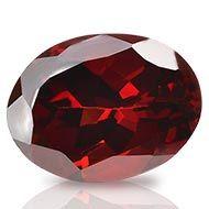 Red Garnet - Ceylon - 3.95 Carats