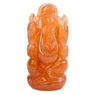 Red Jade Ganesha - 93 gms