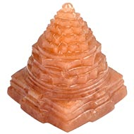 Red Jade Shree Yantra - 232 gms