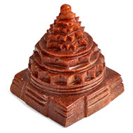 Red Jade Shree Yantra - 276 gms