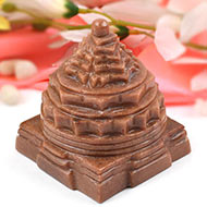 Red Jade Shree Yantra - 448 gms