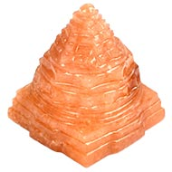 Red Jade Shree Yantra - 68 gms