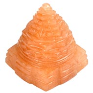 Red Jade Shree Yantra - 80 gms