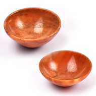 Red Jasper Bowls - Set of 2