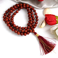 Red Jasper Necklace - 6 mm