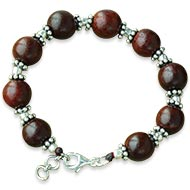 Red Sandalwood Bracelet - IV