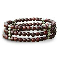 Red Sandalwood Bracelet VII