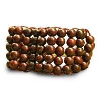 Red Sandalwood Multi Beads Bracelet